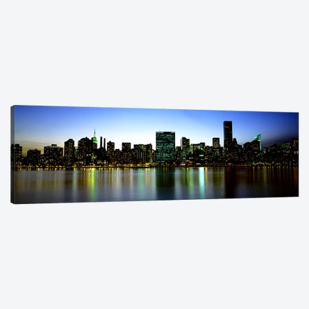 Skyscrapers In A City, NYC, New York City, New York State, USA Canvas Print #PIM4674} by Panoramic Images Canvas Print