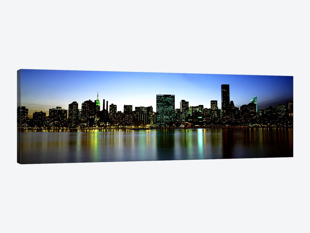 Skyscrapers In A City, NYC, New York City, New York State, USA by Panoramic Images 1-piece Canvas Art Print