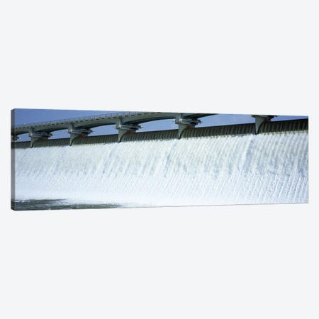 USA, Ohio, Columbus, Big Walnut Creek, Low angle view of a Dam Canvas Print #PIM4689} by Panoramic Images Canvas Art Print