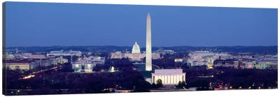 High angle view of a cityWashington DC, USA Canvas Print #PIM469