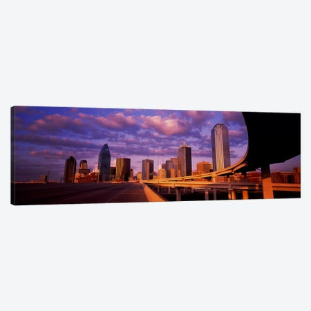 Skyscrapers in a city, Dallas, Texas, USA #2 Canvas Print #PIM46} by Panoramic Images Canvas Art Print