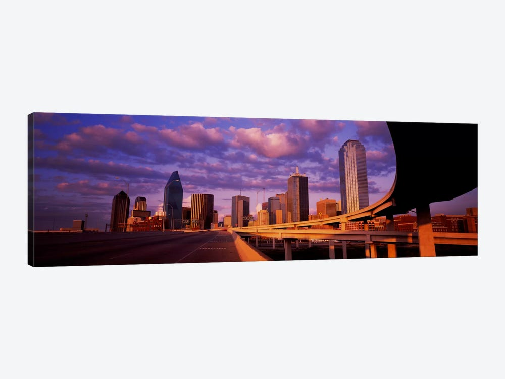 Skyscrapers in a city, Dallas, Texas, USA #2 1-piece Canvas Wall Art