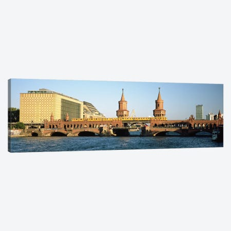 Oberbaum Bridge, Berlin, Germany Canvas Print #PIM4716} by Panoramic Images Canvas Art