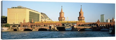 Oberbaum Bridge, Berlin, Germany Canvas Art Print