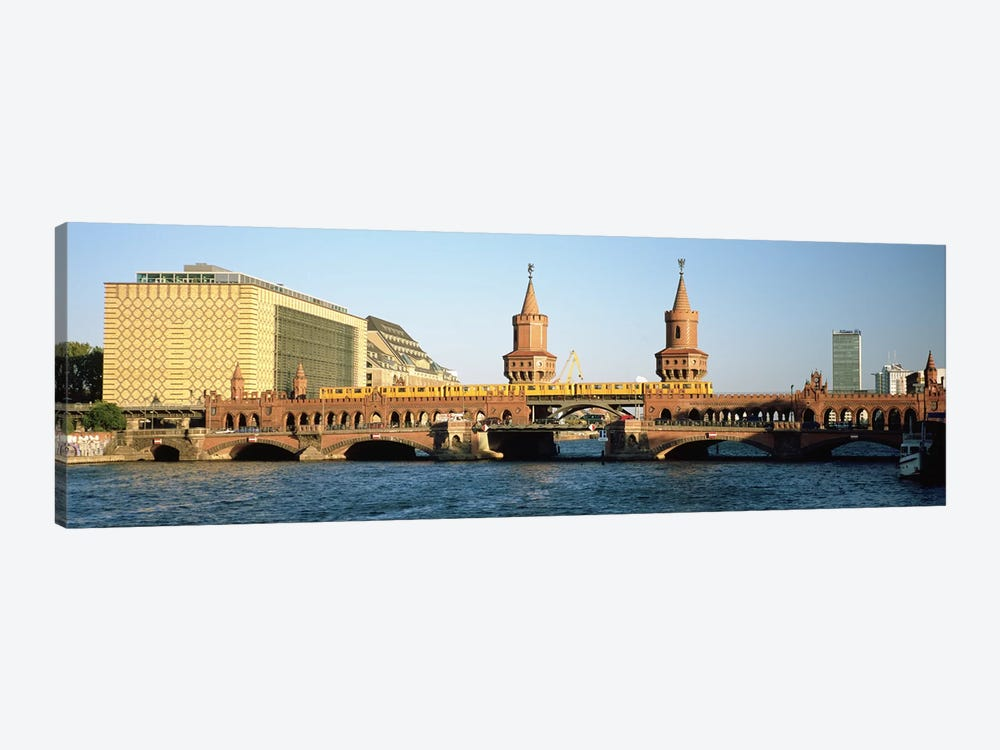 Oberbaum Bridge, Berlin, Germany by Panoramic Images 1-piece Canvas Artwork