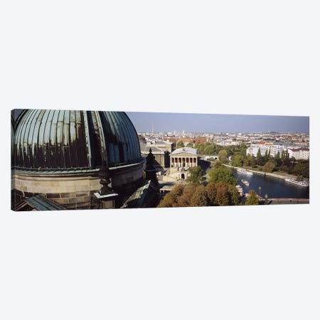 High-Angle View Of Alte Nationalgalerie (Old National Gallery), Berlin, Germany Canvas Print #PIM4724} by Panoramic Images Art Print