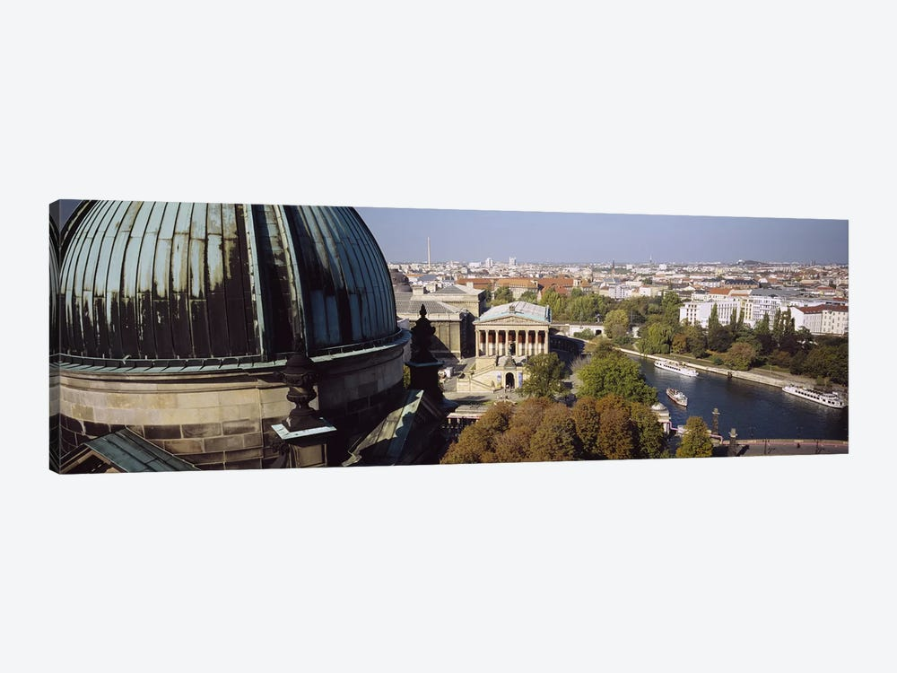 High-Angle View Of Alte Nationalgalerie (Old National Gallery), Berlin, Germany by Panoramic Images 1-piece Canvas Print