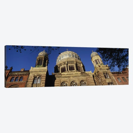 Low Angle View Of Jewish Synagogue, Berlin, Germany Canvas Print #PIM4727} by Panoramic Images Canvas Print