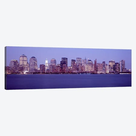 Skyscrapers in a city, Manhattan, New York City, New York, USA #2 Canvas Print #PIM4732} by Panoramic Images Art Print