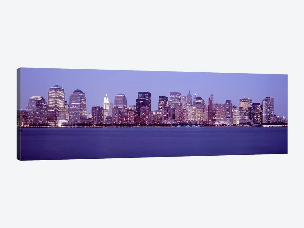 Skyscrapers in a city, Manhattan, New York City, New York, USA #2 by Panoramic Images 1-piece Canvas Artwork