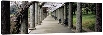 Pergola Colonnades, Italian Garden, Maymont Estate, Richmond, Virginia, USA Canvas Art Print