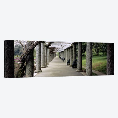 Pergola Colonnades, Italian Garden, Maymont Estate, Richmond, Virginia, USA Canvas Print #PIM4762} by Panoramic Images Canvas Artwork