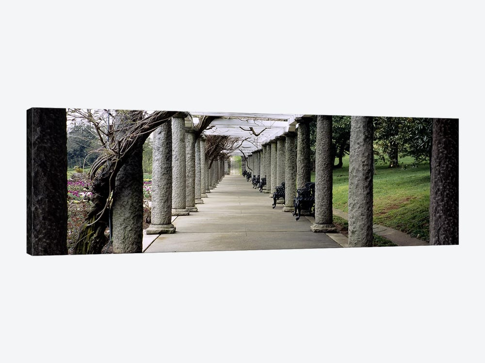 Pergola Colonnades, Italian Garden, Maymont Estate, Richmond, Virginia, USA by Panoramic Images 1-piece Canvas Print