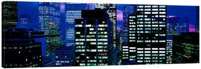 Downtown buildings Toronto Ontario Canada Canvas Art Print