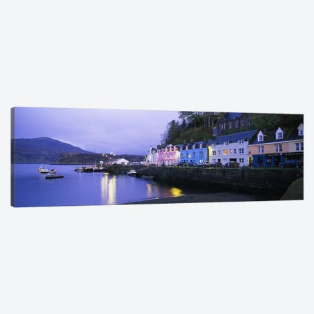 Portree Harbour, Isle Of Skye, Inner Hebrides, Scotland, United Kingdom Canvas Print #PIM4780} by Panoramic Images Canvas Wall Art