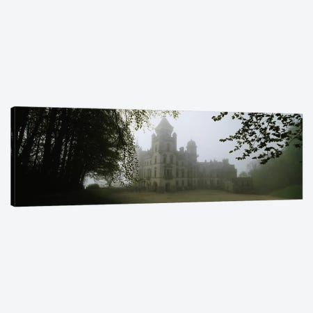 Foggy Morning, Dunrobin Castle, Sutherland, Highland, Scotland, United Kingdom Canvas Print #PIM4784} by Panoramic Images Canvas Print