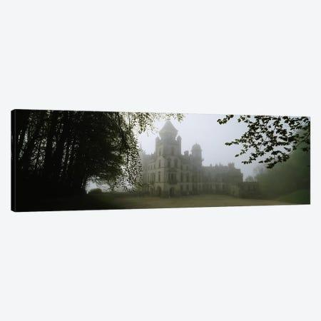 Foggy Morning, Dunrobin Castle, Sutherland, Highland, Scotland, United Kingdom Canvas Print #PIM4784} by Panoramic Images Canvas Print