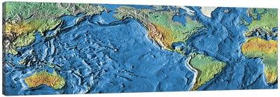 Close-up of a world map Canvas Print #PIM4838