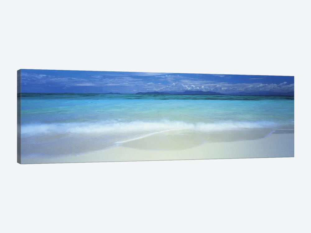 Clouds over an ocean, Great Barrier Reef, Queensland, Australia by Panoramic Images 1-piece Canvas Wall Art
