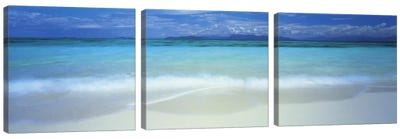 Clouds over an ocean, Great Barrier Reef, Queensland, Australia Canvas Art Print