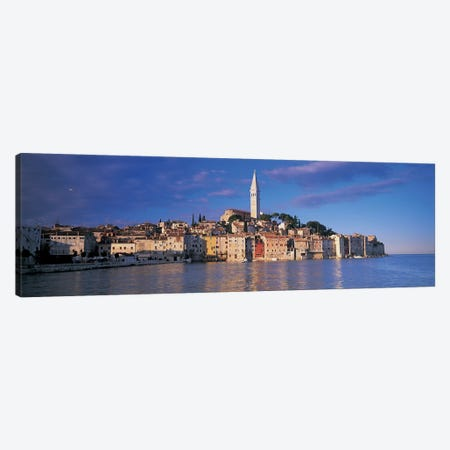 City on the waterfront, Rovinj, Croatia Canvas Print #PIM4849} by Panoramic Images Canvas Print