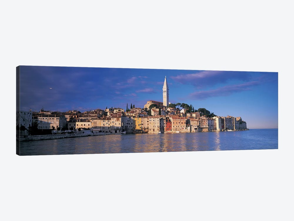 City on the waterfront, Rovinj, Croatia by Panoramic Images 1-piece Canvas Artwork