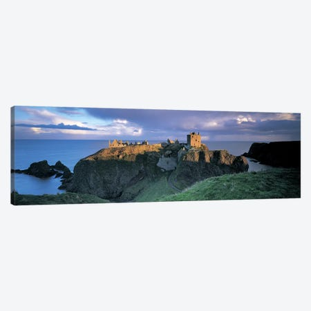 Dunnottar Castle, Aberdeenshire, Scotland, United Kingdom Canvas Print #PIM4855} by Panoramic Images Canvas Art Print