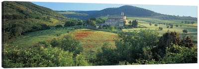 High angle view of a church, Abbazia di Sant'Antimo, Tuscany, Italy Canvas Print #PIM4856