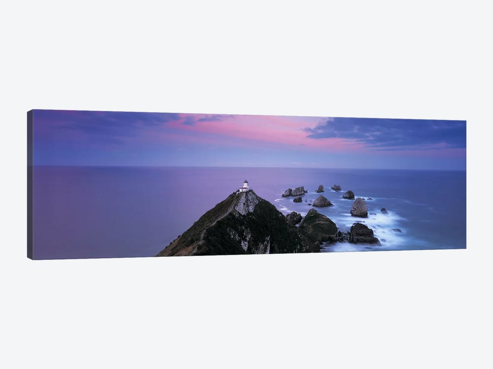 Nugget Point Lighthouse, Nugget Point, The Catlins, Otago, South Island, New Zealand by Panoramic Images 1-piece Canvas Art