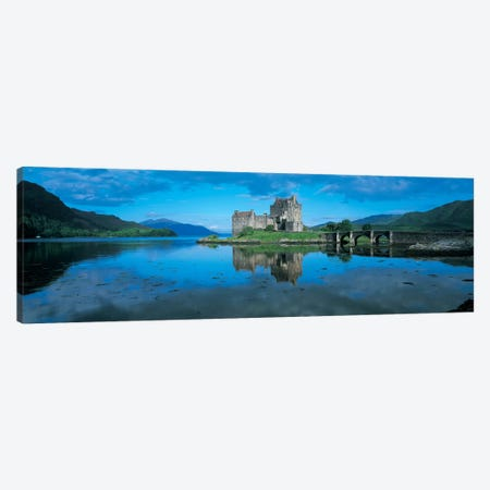 Eilean Donan Castle, Highland, Scotland, United Kingdom Canvas Print #PIM4863} by Panoramic Images Canvas Art Print