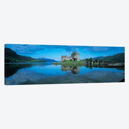 Eilean Donan Castle, Highland, Scotland, United Kingdom Canvas Print #PIM4863} by Panoramic Images Canvas Art Print