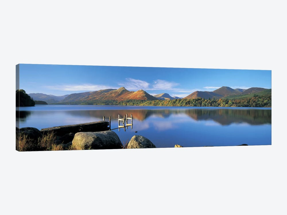 Mountain Reflections, Derwentwater, Lake District National Park, Cumbria, England, United Kingdom by Panoramic Images 1-piece Canvas Art