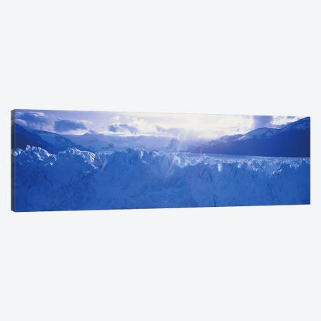 Perito Moreno Glacier Under A Beaming Sun, Los Glaciares National Park, Santa Cruz Province, Patagonia, Argentina Canvas Print #PIM4871} by Panoramic Images Canvas Art