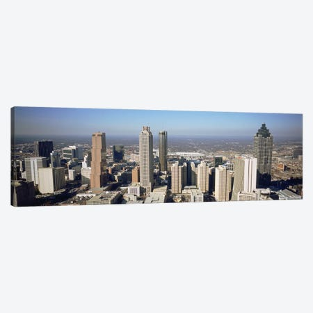 High angle view of buildings in a cityAtlanta, Georgia, USA Canvas Print #PIM4885} by Panoramic Images Canvas Art