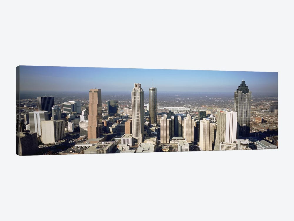 High angle view of buildings in a cityAtlanta, Georgia, USA by Panoramic Images 1-piece Canvas Art