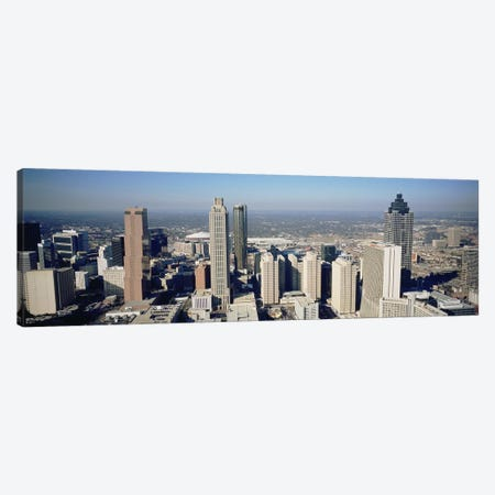 High angle view of buildings in a cityAtlanta, Georgia, USA Canvas Print #PIM4886} by Panoramic Images Canvas Wall Art