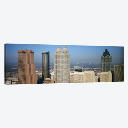 Skyscrapers in a cityAtlanta, Georgia, USA Canvas Print #PIM4888} by Panoramic Images Art Print