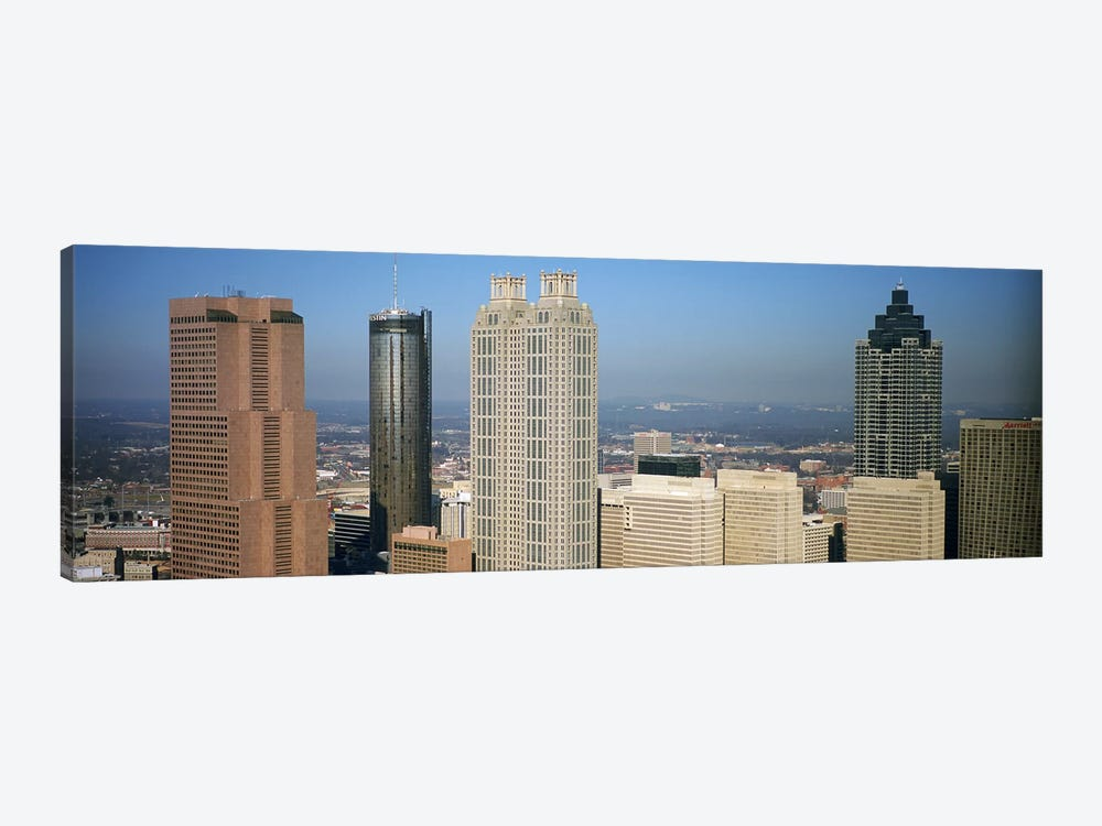 Skyscrapers in a cityAtlanta, Georgia, USA by Panoramic Images 1-piece Canvas Print