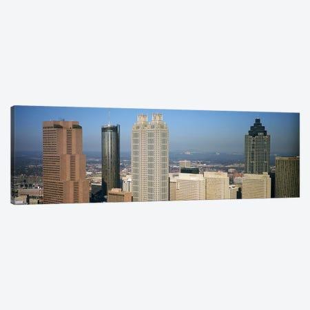 Skyscrapers in a cityAtlanta, Georgia, USA Canvas Print #PIM4888} by Panoramic Images Art Print