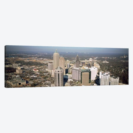 High angle view of buildings in a cityAtlanta, Georgia, USA Canvas Print #PIM4889} by Panoramic Images Art Print