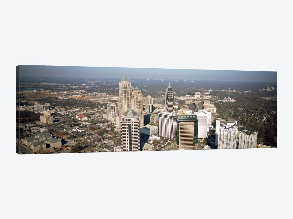 High angle view of buildings in a cityAtlanta, Georgia, USA by Panoramic Images 1-piece Canvas Artwork