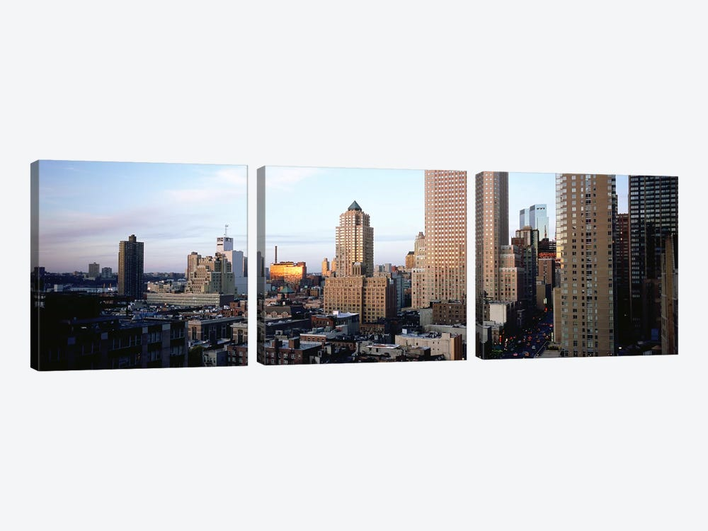 High angle view of buildings in a cityAtlanta, Georgia, USA by Panoramic Images 3-piece Canvas Artwork