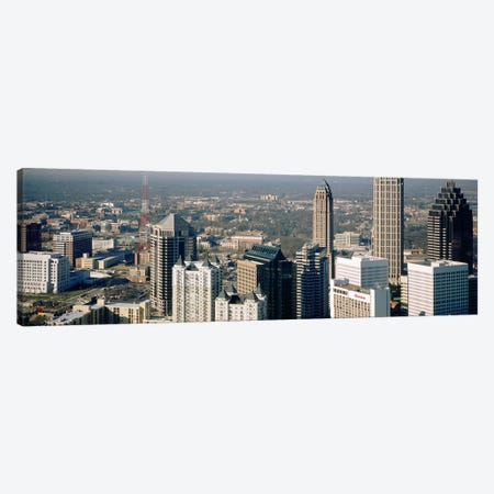 High angle view of buildings in a cityAtlanta, Georgia, USA Canvas Print #PIM4891} by Panoramic Images Canvas Wall Art