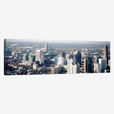 High angle view of buildings in a cityAtlanta, Georgia, USA Canvas Print #PIM4892} by Panoramic Images Canvas Artwork