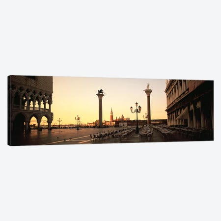 Piazzetta di San Marco At Dusk, Venice, Italy Canvas Print #PIM4898} by Panoramic Images Canvas Art