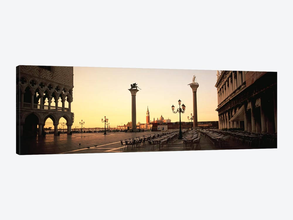 Piazzetta di San Marco At Dusk, Venice, Italy by Panoramic Images 1-piece Canvas Artwork