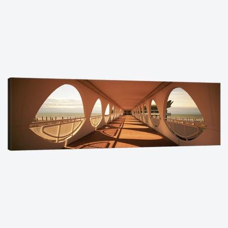 Covered Catwalk, Terrazza a Mare, Lignano Sabbiadoro, Friuli-Venezia-Giulia, Italy Canvas Print #PIM4914} by Panoramic Images Canvas Artwork