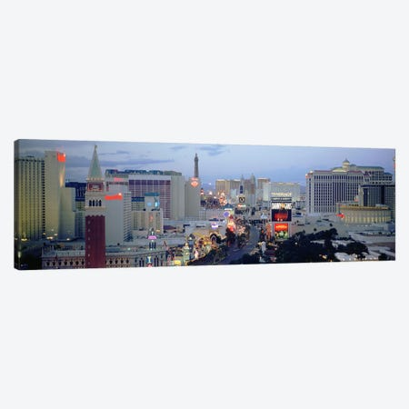 High angle view of buildings in a city, The Strip, Las Vegas, Nevada, USA Canvas Print #PIM4918} by Panoramic Images Art Print