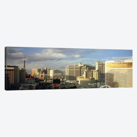 High angle view of buildings in a city, The Strip, Las Vegas, Nevada, USA #2 Canvas Print #PIM4919} by Panoramic Images Art Print