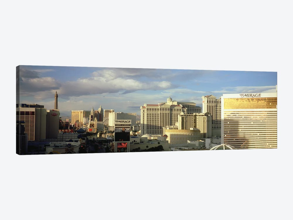 High angle view of buildings in a city, The Strip, Las Vegas, Nevada, USA #2 by Panoramic Images 1-piece Canvas Artwork